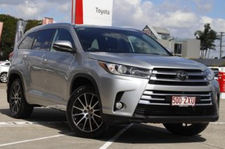 2018 Toyota Kluger GSU55R Grande AWD Silver 8 Speed Sports Automatic Wagon.