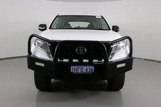 2017 Toyota Landcruiser Prado GDJ150R MY16 GX (4x4) White 6 Speed Automatic Wagon.