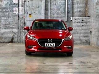 2016 Mazda 3 BM5278 Maxx SKYACTIV-Drive Red 6 Speed Sports Automatic Sedan.