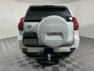 2018 Toyota Landcruiser Prado GDJ150R GXL White 6 Speed Sports Automatic Wagon