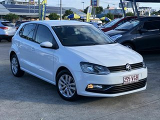 2014 Volkswagen Polo 6R MY15 81TSI DSG Comfortline White 7 Speed Sports Automatic Dual Clutch.