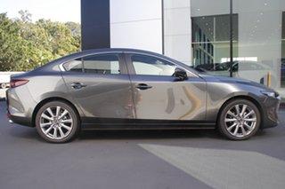 2021 Mazda 3 BP2S7A G20 SKYACTIV-Drive Evolve Machine Grey 6 Speed Sports Automatic Sedan.