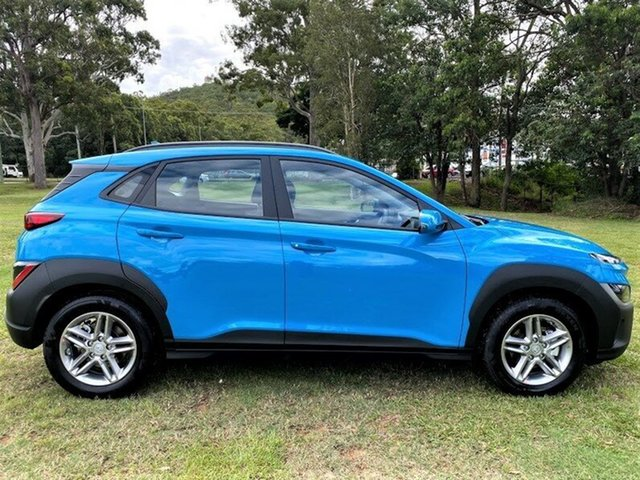New Hyundai Kona Os.v4 MY21 2WD Mount Gravatt, 2021 Hyundai Kona Os.v4 MY21 2WD Dive in Jeju 8 Speed Constant Variable Wagon