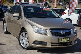 2009 Holden Cruze JG CD Beige 6 Speed Sports Automatic Sedan.
