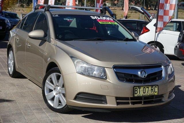 Used Holden Cruze JG CD Phillip, 2009 Holden Cruze JG CD Beige 6 Speed Sports Automatic Sedan
