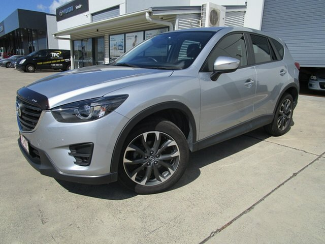 Used Mazda CX-5 KE1032 Grand Touring SKYACTIV-Drive AWD Caboolture, 2016 Mazda CX-5 KE1032 Grand Touring SKYACTIV-Drive AWD Silver 6 Speed Sports Automatic Wagon