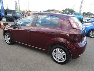 2013 Fiat Punto MY13 Pop Dualogic Red 5 Speed Sports Automatic Single Clutch Hatchback.