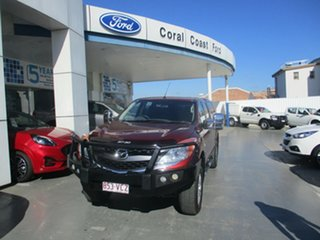 2014 Mazda BT-50 MY13 XTR (4x4) Red 6 Speed Automatic Freestyle Utility.
