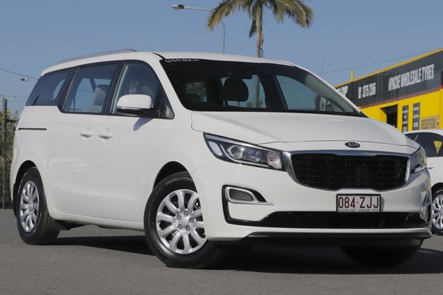 Used Kia Carnival YP MY20 S Rocklea, 2019 Kia Carnival YP MY20 S Clear White 8 Speed Sports Automatic Wagon