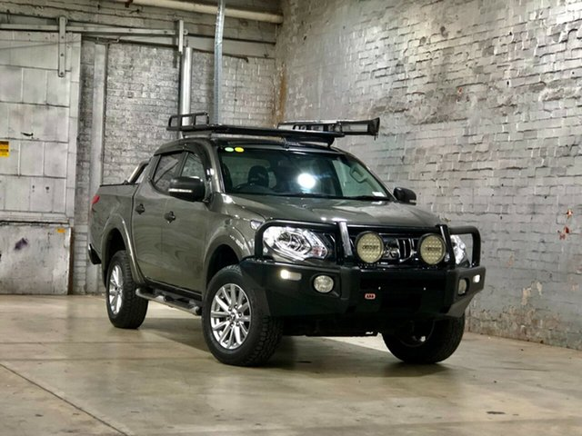 Used Mitsubishi Triton MQ MY17 GLS Double Cab Mile End South, 2016 Mitsubishi Triton MQ MY17 GLS Double Cab Grey 6 Speed Manual Utility