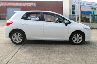 2012 Toyota Corolla ZRE152R MY11 Ascent Sport White 6 Speed Manual Hatchback