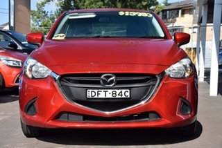 2016 Mazda 2 DL2SA6 Neo SKYACTIV-MT Red 6 Speed Manual Sedan