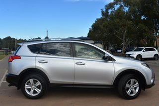 2013 Toyota RAV4 ASA44R GXL AWD Silver 6 Speed Sports Automatic Wagon.