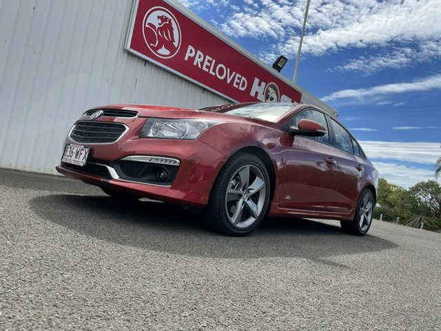 Used Holden Cruze JH Series II MY16 SRI Z-Series Bundaberg, 2016 Holden Cruze JH Series II MY16 SRI Z-Series Red 6 Speed Sports Automatic Sedan