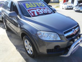 2008 Holden Captiva CG MY09 SX AWD Grey 5 Speed Sports Automatic Wagon.