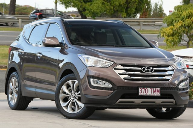 Used Hyundai Santa Fe DM MY13 Highlander North Lakes, 2013 Hyundai Santa Fe DM MY13 Highlander Brown 6 Speed Sports Automatic Wagon