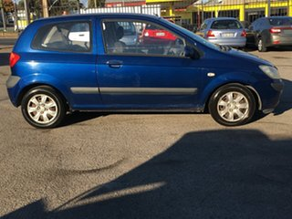 2005 Hyundai Getz TB MY05 FX Blue 5 Speed Manual Hatchback.