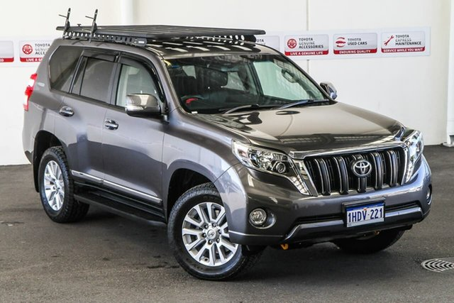 Pre-Owned Toyota Landcruiser GDJ150R Prado Altitude Spl Edt Rockingham, 2017 Toyota Landcruiser GDJ150R Prado Altitude Spl Edt Graphite 6 Speed Automatic Wagon
