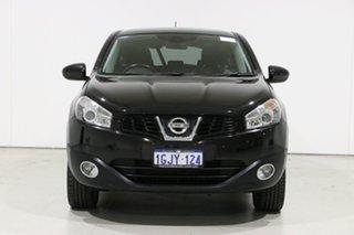 2011 Nissan Dualis J10 Series II TI (4x2) Black 6 Speed CVT Auto Sequential Wagon.
