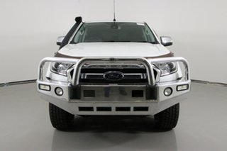 2015 Ford Ranger PX MkII XLT 3.2 (4x4) White 6 Speed Manual Double Cab Pick Up.