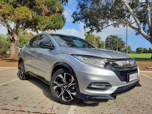 Used Honda HR-V MY18 RS Adelaide, 2018 Honda HR-V MY18 RS Silver 1 Speed Constant Variable Hatchback