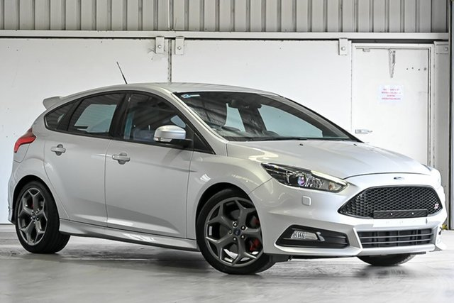 Used Ford Focus LZ ST Laverton North, 2015 Ford Focus LZ ST Silver 6 Speed Manual Hatchback