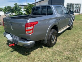 2016 Mitsubishi Triton Grey 6 Speed Automatic Dual Cab