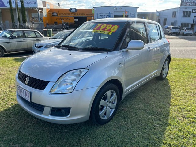 Used Suzuki Swift RS415 RE1 Clontarf, 2008 Suzuki Swift RS415 RE1 Silver 4 Speed Automatic Hatchback