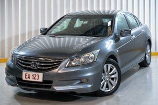 2013 Honda Accord 8th Gen MY12 Limited Edition Grey 5 Speed Sports Automatic Sedan.