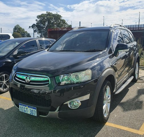 Used Holden Captiva CG MY13 7 AWD LX Edgewater, 2013 Holden Captiva CG MY13 7 AWD LX Black 6 Speed Sports Automatic Wagon
