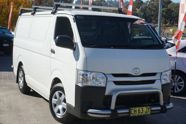 Used Toyota HiAce KDH201R LWB Phillip, 2016 Toyota HiAce KDH201R LWB White 5 Speed Manual Van