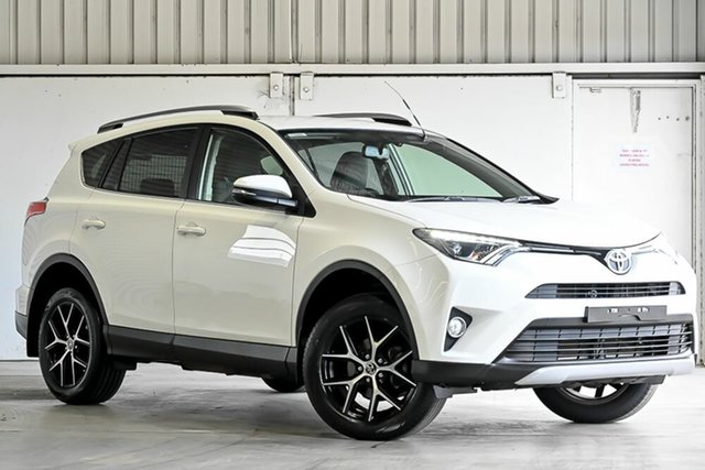 Used Toyota RAV4 ZSA42R GXL 2WD Laverton North, 2017 Toyota RAV4 ZSA42R GXL 2WD White 7 Speed Constant Variable Wagon