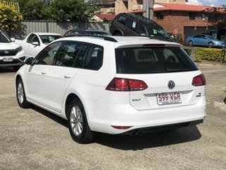 2013 Volkswagen Golf VII MY14 90TSI DSG White 7 Speed Sports Automatic Dual Clutch Wagon.
