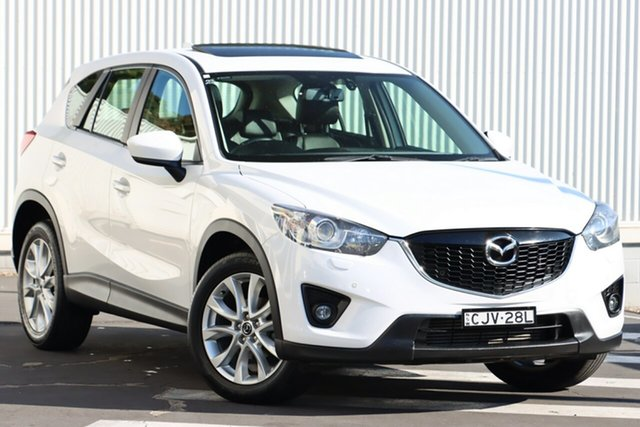 Used Mazda CX-5 KE1021 Grand Touring SKYACTIV-Drive AWD Wollongong, 2012 Mazda CX-5 KE1021 Grand Touring SKYACTIV-Drive AWD Crystal White Pearl 6 Speed Sports Automatic