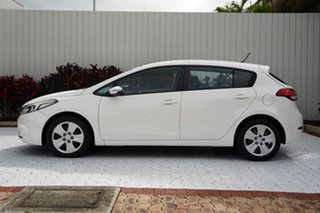2016 Kia Cerato YD MY16 S White 6 Speed Sports Automatic Hatchback