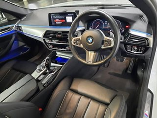 2019 BMW 5 Series G30 530i Steptronic M Sport White 8 Speed Sports Automatic Sedan