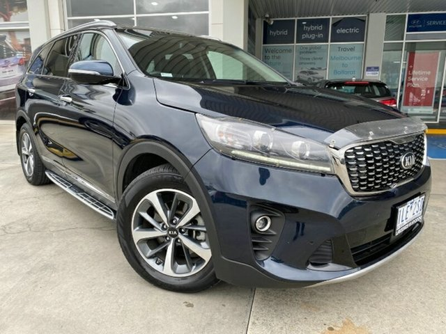 Used Kia Sorento UM MY18 SLi Ravenhall, 2017 Kia Sorento UM MY18 SLi Blue 8 Speed Sports Automatic Wagon