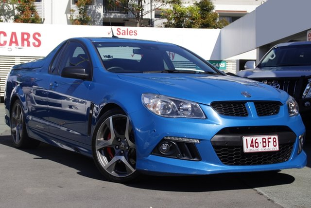Used Holden Special Vehicles Maloo Gen-F MY15 R8 Mount Gravatt, 2015 Holden Special Vehicles Maloo Gen-F MY15 R8 Blue 6 Speed Manual Utility