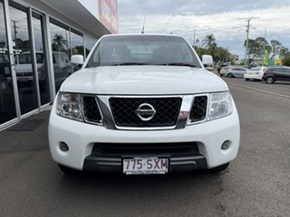 2012 Nissan Navara D40 S6 MY12 ST 4x2 White 5 Speed Sports Automatic Utility