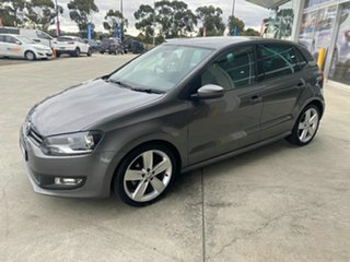 2011 Volkswagen Polo 6R MY11 77TSI DSG Comfortline Grey 7 Speed Sports Automatic Dual Clutch
