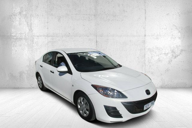 Used Mazda 3 BL10F1 Neo Activematic Bendigo, 2010 Mazda 3 BL10F1 Neo Activematic White 5 Speed Sports Automatic Sedan