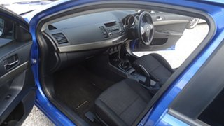2012 Mitsubishi Lancer CJ MY12 ES Sportback Blue 5 Speed Manual Hatchback