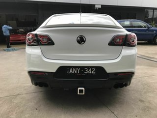2015 Holden Commodore VF MY15 SV6 White 6 Speed Automatic Sedan