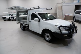2014 Isuzu D-MAX MY14 SX 4x2 White 5 Speed Manual Cab Chassis.
