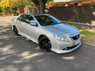 2015 Toyota Aurion GSV50R Sportivo Silver 6 Speed Sports Automatic Sedan.