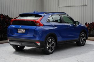 2019 Mitsubishi Eclipse Cross YA MY19 ES 2WD Lightning Blue 8 Speed Constant Variable Wagon