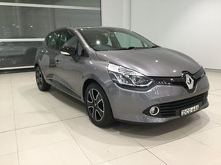 2015 Renault Clio IV B98 Expression EDC Grey/x98 6 Speed Sports Automatic Dual Clutch Hatchback.
