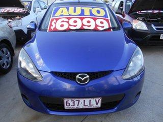2008 Mazda 2 DE10Y1 Neo Blue 4 Speed Automatic Hatchback.