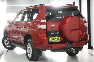 2017 Toyota Landcruiser Prado GDJ150R MY16 GXL (4x4) Red 6 Speed Automatic Wagon.