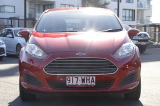 2016 Ford Fiesta WZ Ambiente PwrShift Red 6 Speed Sports Automatic Dual Clutch Hatchback